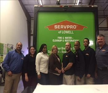 SERVPRO Of Lowell Crew