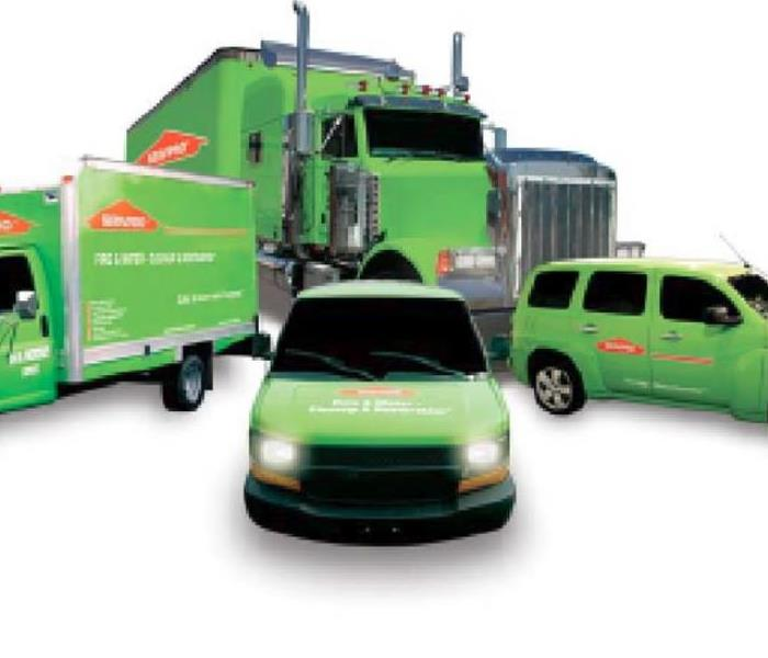 SERVPRO all in Ready to service any size disaster!