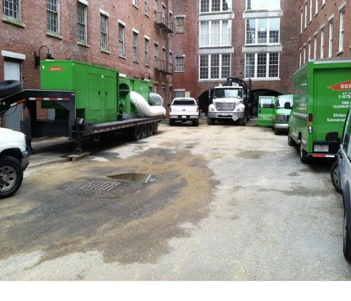 Commercial When Disaster Strike Call SERVPRO of Lowell