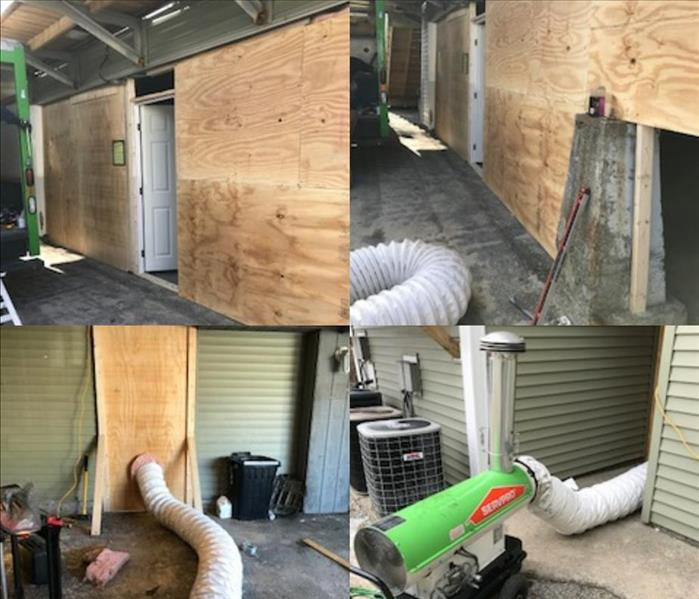 Water Damage SERVPRO of Lowell goes above and beyond
